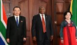 Ramaphosa welcomes North Korean officials 'to serve in South Africa'